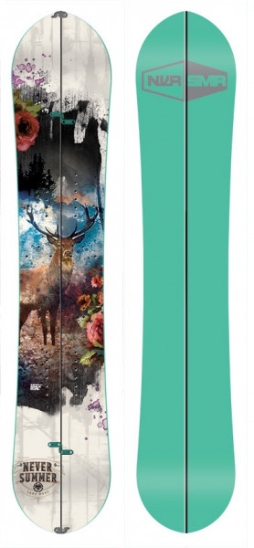 Never Summer Lady West Splitboard 19/20