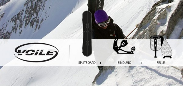 Splitboard Set Voile