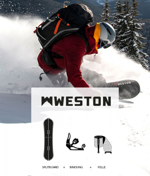 Splitboard Set Weston