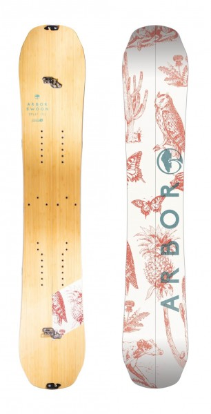Arbor Swoon Women Splitboard 2017