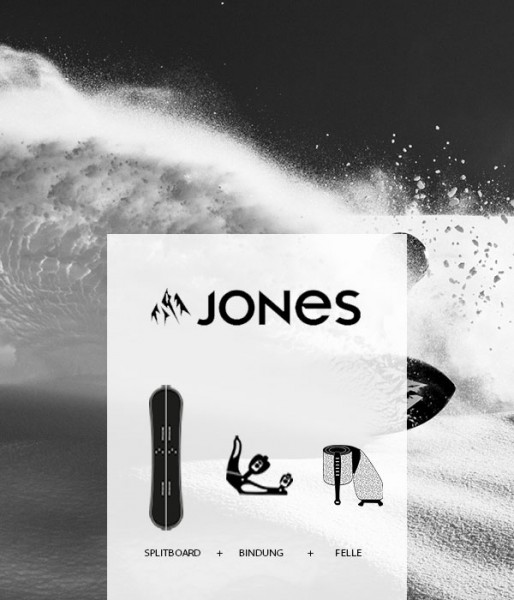 Splitboard Set Jones von Splitboards Europe