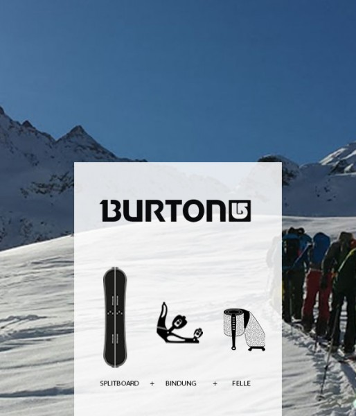 Splitboard Set Burton von Splitboards Europe