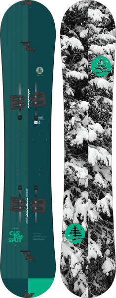 Burton Family Tree Custom Splitboard