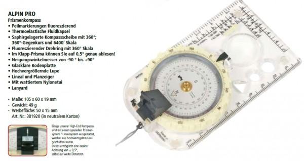 Alpin PRO Kompass