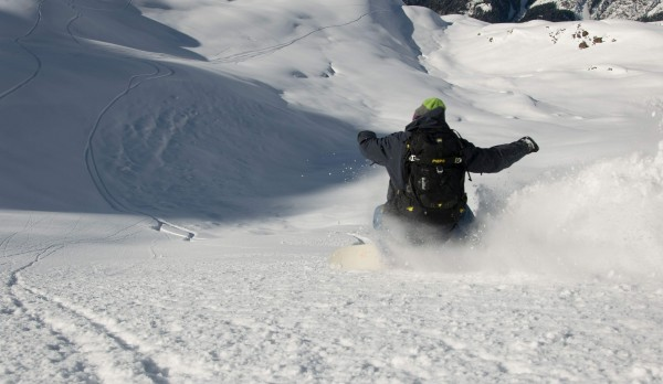 Freeriden am Arlberg mit Splitboards Europe