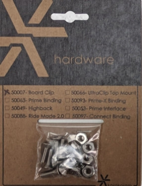 Board Clip Hardware