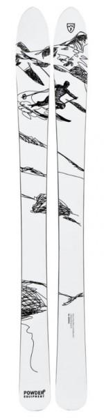 Powderequipment Typ Pionier Ski